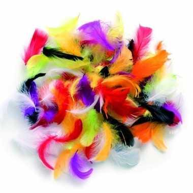 10 gram decoratie sierveertjes bonte kleuren