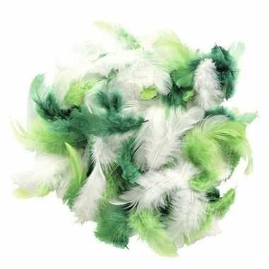 10 gram decoratie sierveertjes groen kleuren