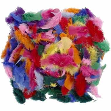 100 gram decoratieveren gekleurd