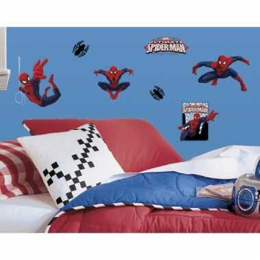 Muurstickers Kinderkamer Spiderman.22 Muurstickers Van Spiderman Hobbyzoldertje Nl