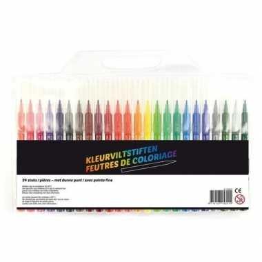 24x gekleurde stiftjes