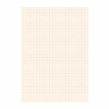 25 vel millimeter papier blok