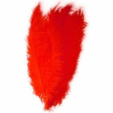 2x hobby/knutsel spadonis sierveren rood 50 cm