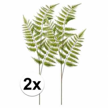 2x tree fern kunst tak 85 cm