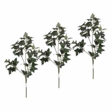 3 stuks nep planten hedera klimop kunstbloemen takken 55 cm decoratie