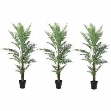 3x kunstplanten een varen van 150 cm
