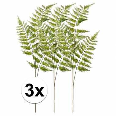 3x tree fern kunst tak 85 cm