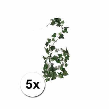 5 klimop helix kunstplant slingers 180 cm