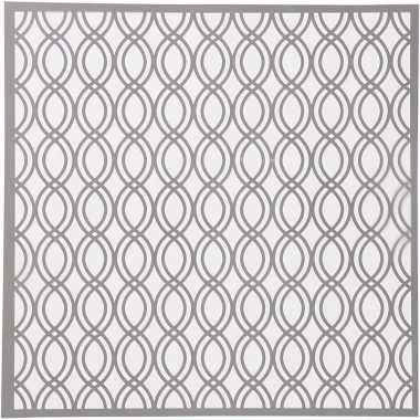 70s patroon sjabloon 30 x 30 cm