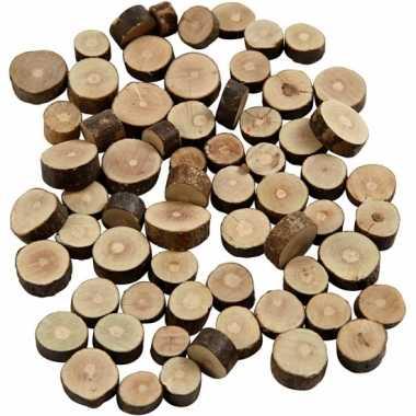780x houten boomschijfjes klein