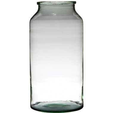 Bloemenvaas van gerecycled glas 42.5 x 22.5 cm