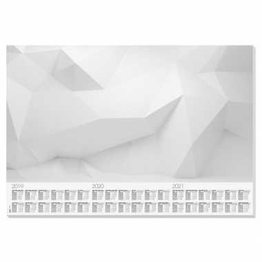 Bureau beschermer van papier 30 vellen 59.5 x 41 cm design wall