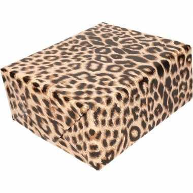 Cadeaupapier panterprint luipaardprint 200 cm