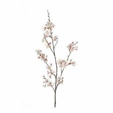 Cherry blossom kunstbloem tak 105 cm roze