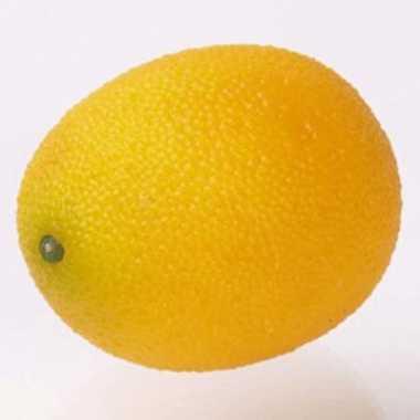 Citroen nepfruit/namaakfruit 7 cm