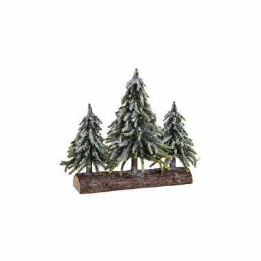 Decoratie kerstboompjes 35 cm