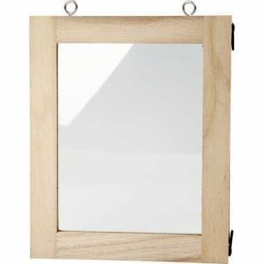 Diy fotolijstje knutselen 14 x 17 cm