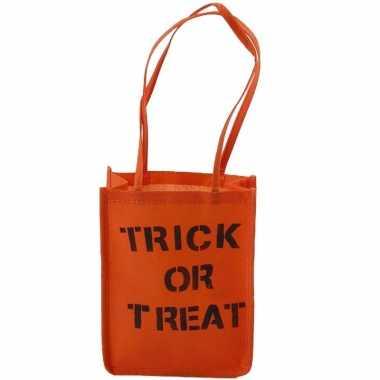 Diy pakket trick or treat tas