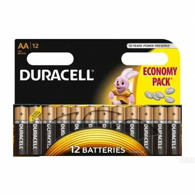 Duracell aa batterijen 12 stuks