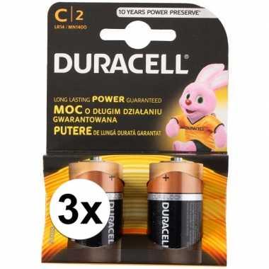 Duracell alkalnine batterijen cr14 6 stuks
