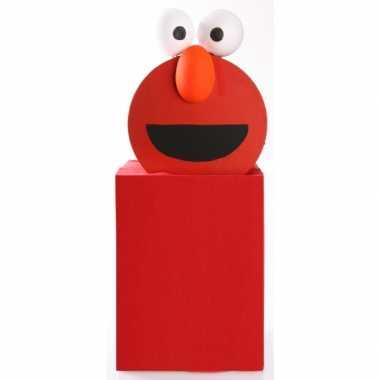 Elmo suprise knutselen diy pakket