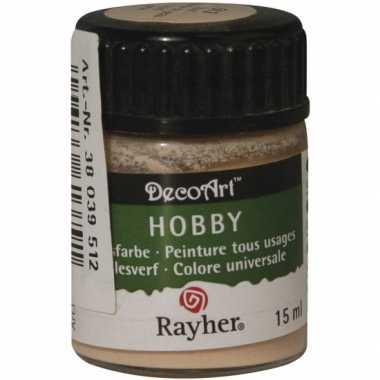 Flesje acrylverf huidskleur 15 ml