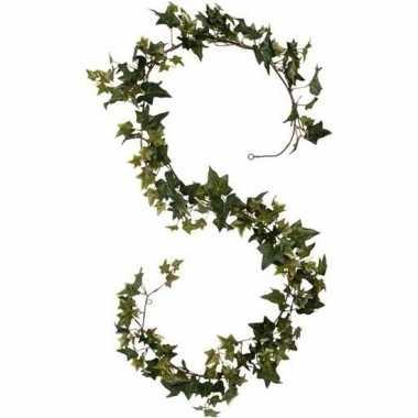 Groene klimop hangplanten 180 cm kunstplanten slinger woonaccessoires