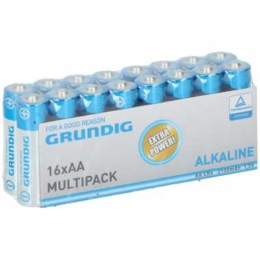 Grundig aa batterijen 16 stuks