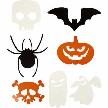Halloween decoratie stansjes 7 soorten 10072755