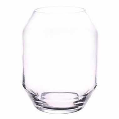 Heldere glazen bloemenvaas 40 cm 10101524