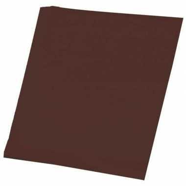 Hobby papier bruin a4 100 stuks