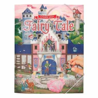 Jongens stickerboek sprookjes verhaal thema