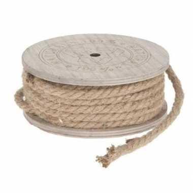 Jute touw op rol 700 cm