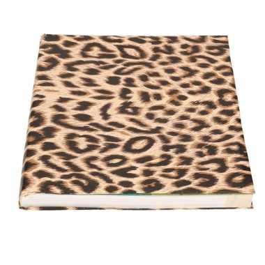 Kaftpapier panterprint/luipaardprint 200 cm