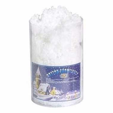 Kerstboomversiering sneeuwwatjes 85 gram