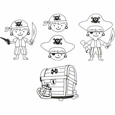 Krimp hobby folie piraat 4 vellen