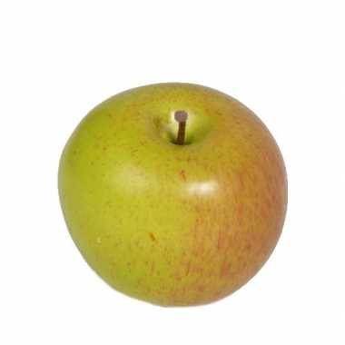 Kunst fruit appel 8 cm