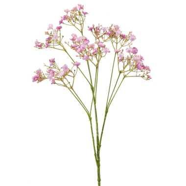 Kunstbloemen gipskruid/gypsophila takken fuchsia roze 68 cm
