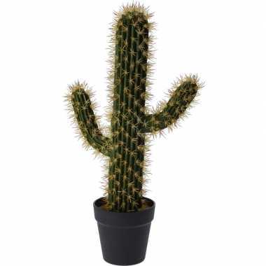 Kunstplant cactus saguaro groen 55 cm