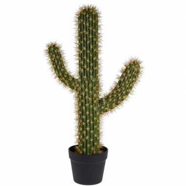 Kunstplant cactus saguaro groen 76 cm