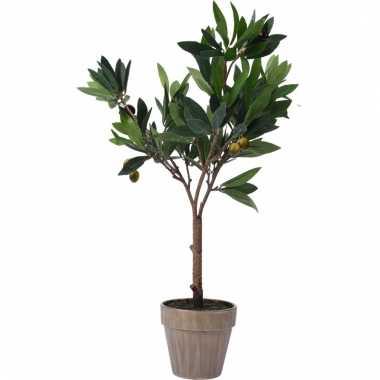 Kunstplant olijfplant in pot 54 cm