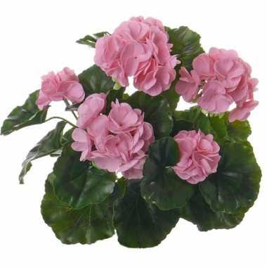 Kunstplanten roze franse geranium