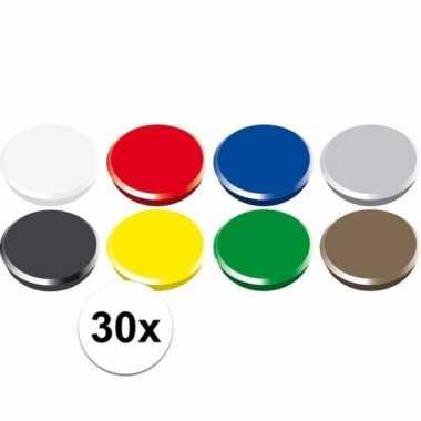 Magneten setje van 30 stuks