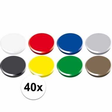 Magneten setje van 40 stuks