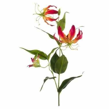 Nep planten gloriosa 75 cm decoratie
