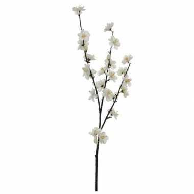 Nep planten malus domestica appelbloesem kunstbloemen takken 181 cm d