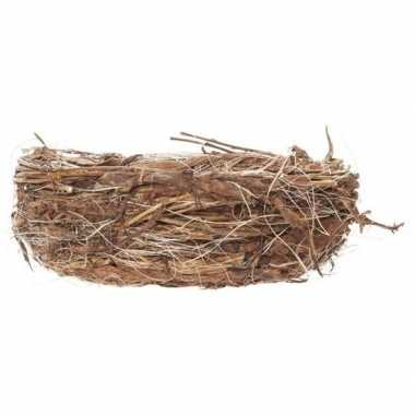 Pasen vogelnestjes voor paaseieren 17 cm