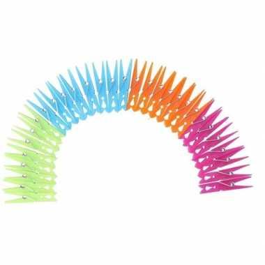 Plastic wasknijpers 120 stuks