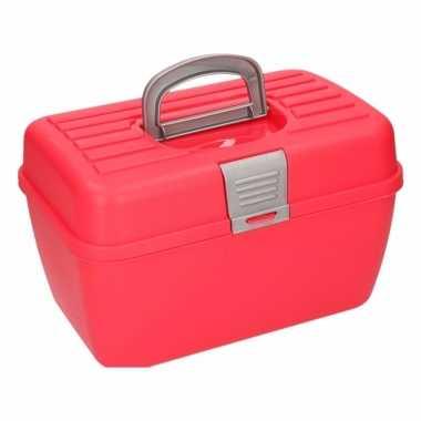Rode opbergbox 28 cm