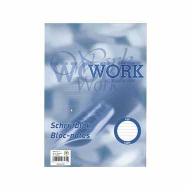 Schoolspullen schrijfblok A4 100 vel